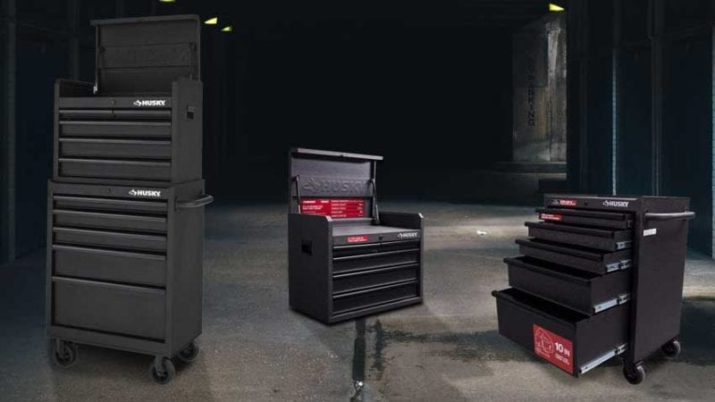 best tool chests reviews Husky