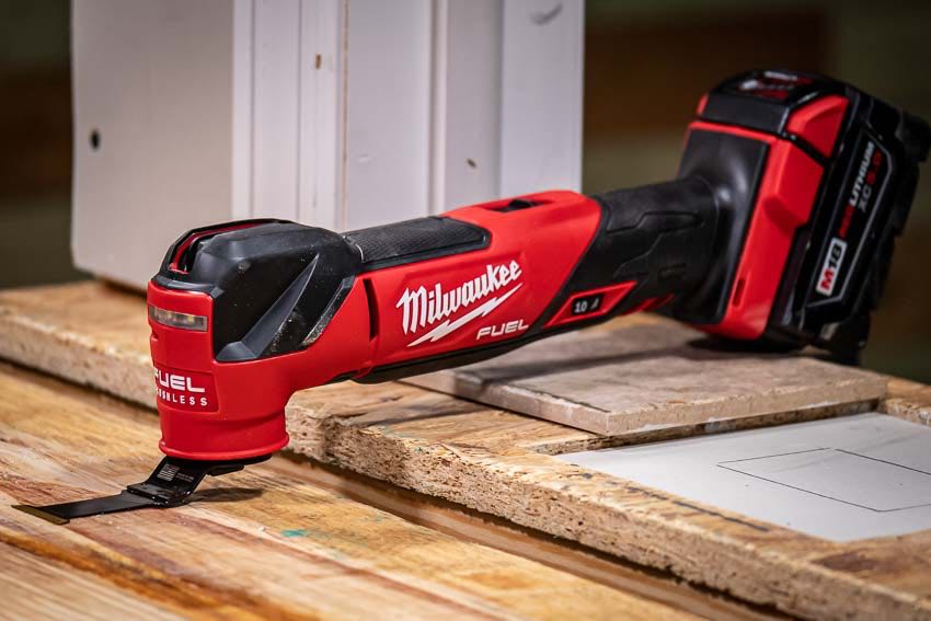 Milwaukee M18 Fuel Oscillating Multi-Tool Beauty Shot