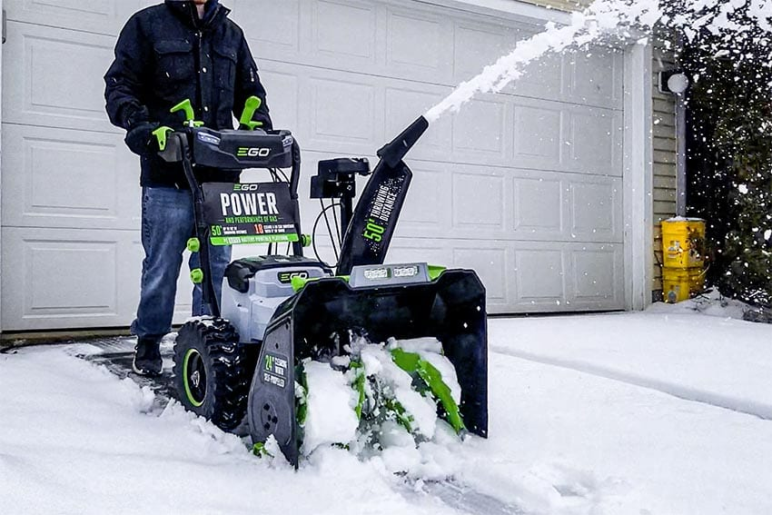 EGO 2-Stage Snow Blower Review