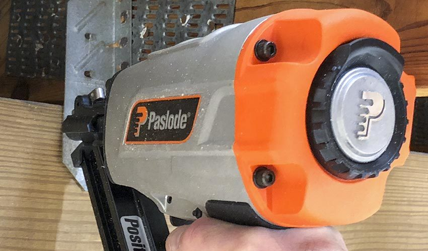 Paslode Positive Placement Metal Connector Nailer F150S-PP