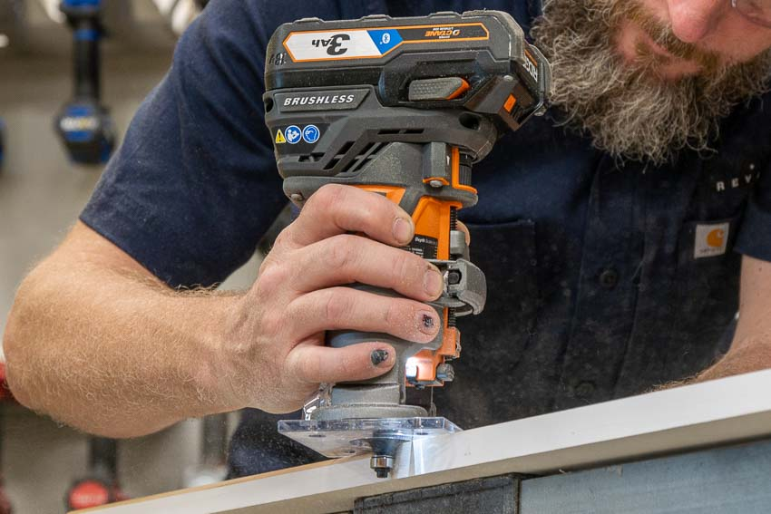Ridgid 18v Octane Cordless Compact Router Review R860443b Ptr