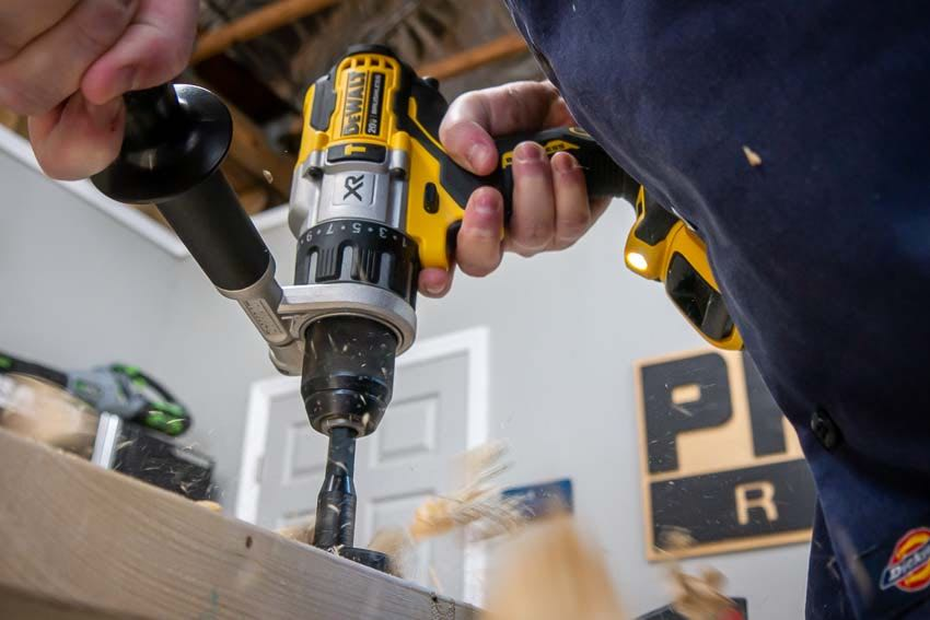 best DeWalt DCD998 Power Detect 20V Hammer Drill