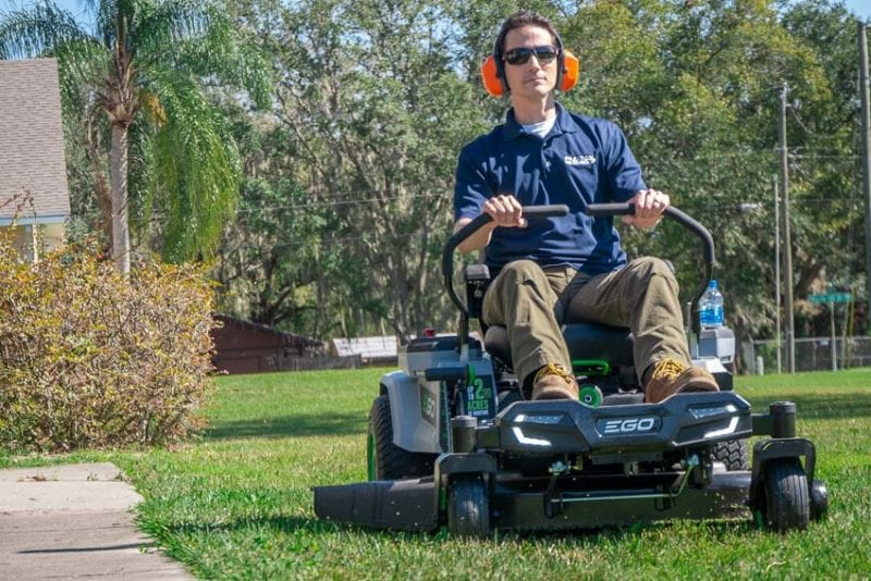 Best Battery-Powered Zero Turn Lawn Mower | EGO Z6