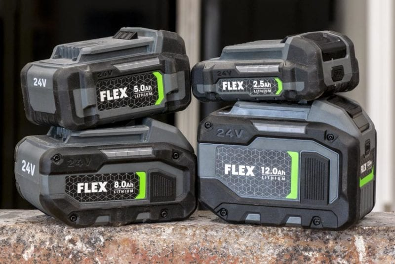 Flex 24V Cordless Tools | 24V Battery Family