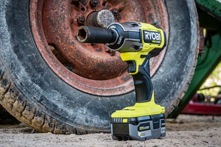 Ryobi 18V One+ HP Brushless 1/2-Inch Impact Wrench Review P262
