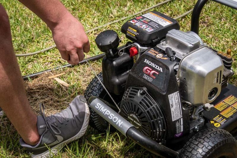 Simpson 3200 PSI Pressure Washer Review MSH3125-S with Honda GC190 Engine.