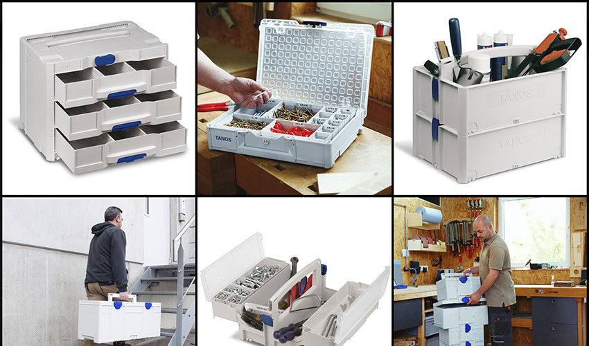 Tanos Systainers   Not Your Average Toolbox