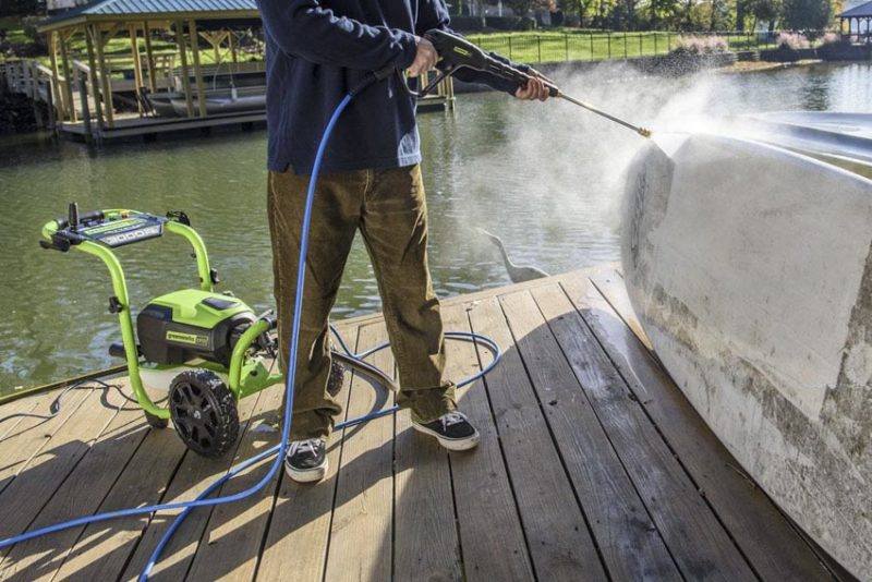 Best Electric Pressure Washer Reviews | Greenworks Pro 3000 PSI Brushless Pressure Washer