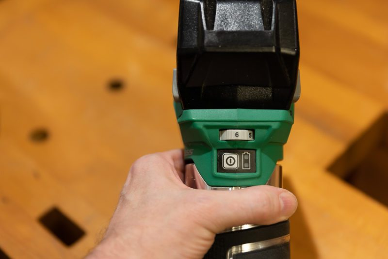 Metabo HPT Trim Router On Off