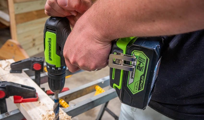 Greenworks 24V Drill Driver Feature