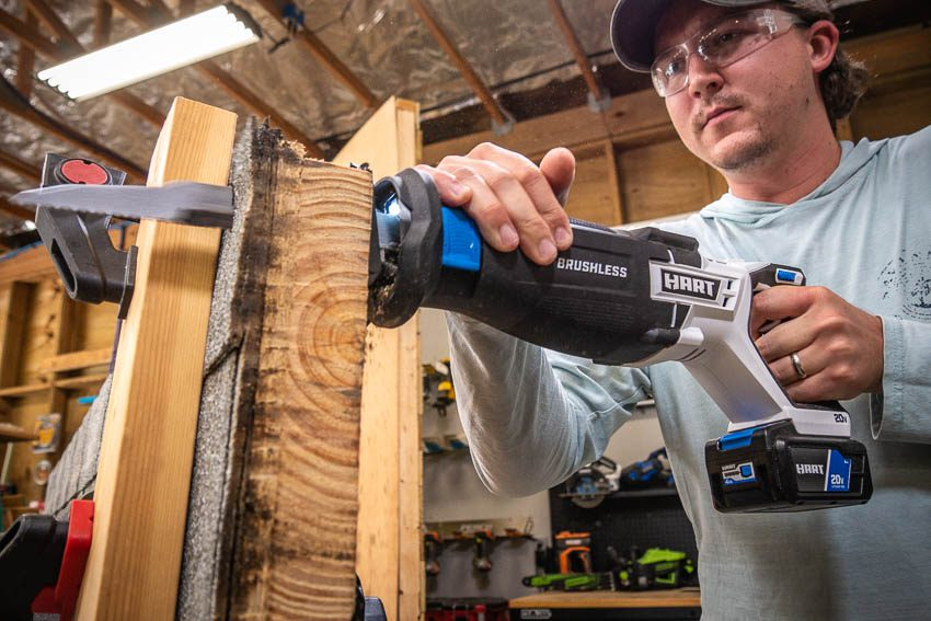 Hart 20V Brushless Reciprocating Saw Feature
