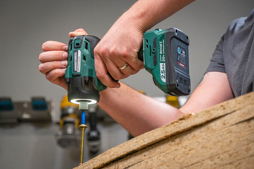 Masterforce Boost Cordless Impact Driver Driving
