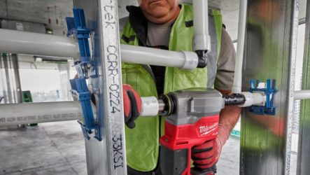 Milwaukee 2-Inch ProPEX Expander Feature