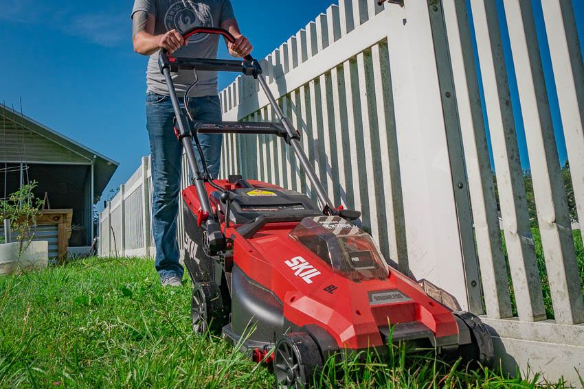 Skil 2x20V Mower FEature