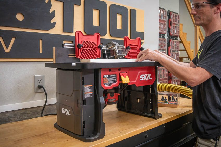 Skil Benchtop Router Table FEature