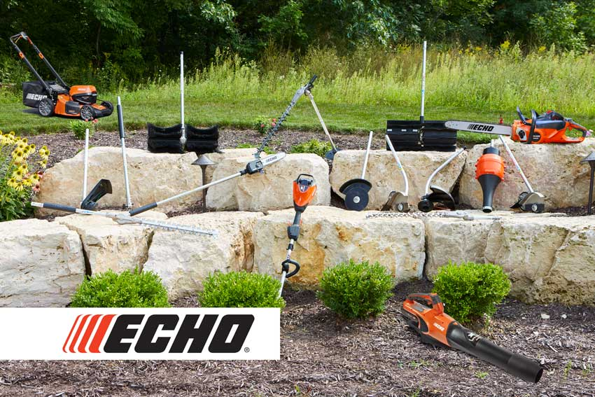 ECHO eFORCE 56V outdoor power tools system
