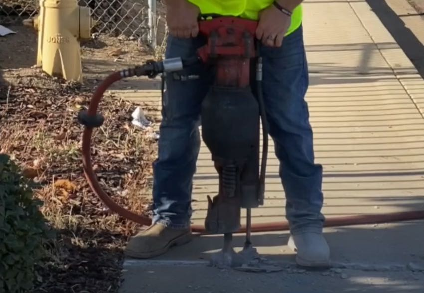 Makinex Lift Assist for Jackhammers and Demo