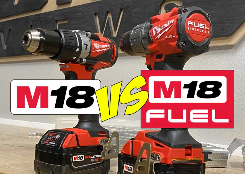 Milwaukee M18 vs M18 Fuel tools whats difference