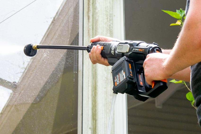 Worx Hydroshot Max 40V Cordless Power Cleaner Review
