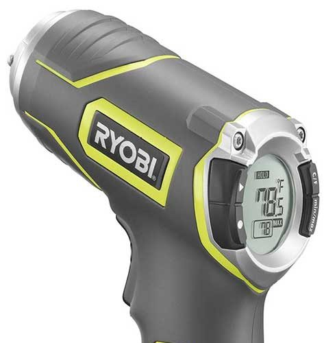 Ryobi Tek4 RP4030 Professional Infrared Thermometer Review