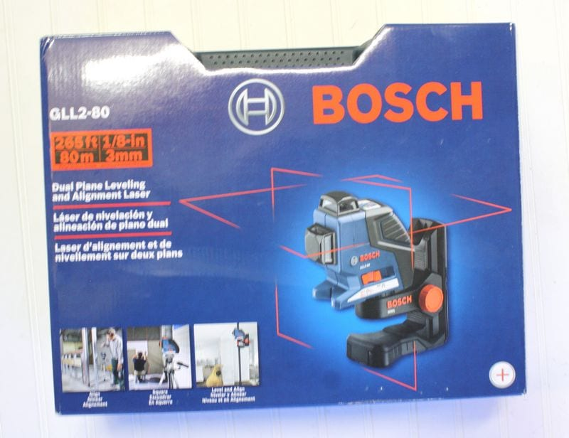Bosch GLL2-80 Dual Plane Leveling and Alignment Laser Review