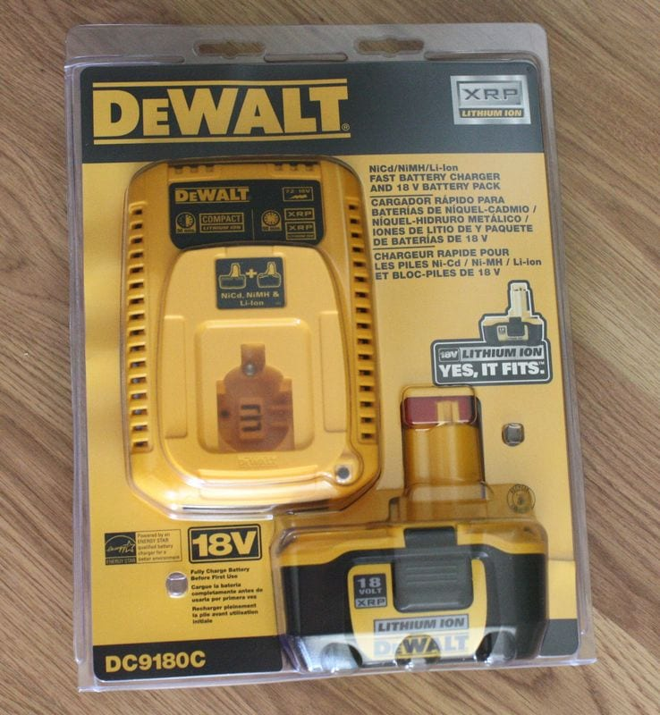 DeWALT DC9180C Lithium-Ion XRP Battery and Charger Review