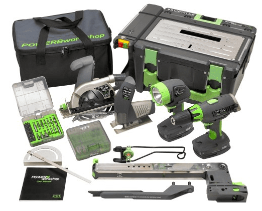 CEL Power8 Workshop Cordless Benchtop Tools Review
