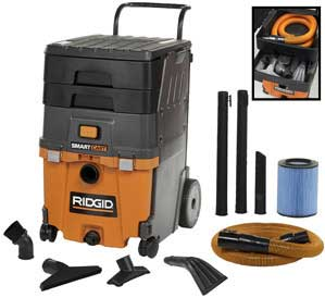 Ridgid WD7000 Smart Cart Shop Vacuum Review