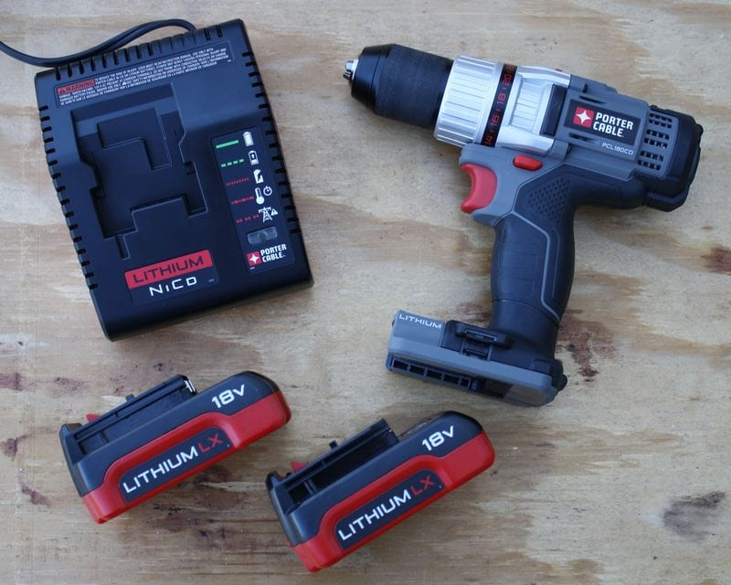 Porter-Cable PCL180CDK-2 18V Li-ion Drill Kit Review