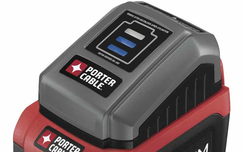 Porter-Cable PCC580B 18V Battery Status Indicator Preview