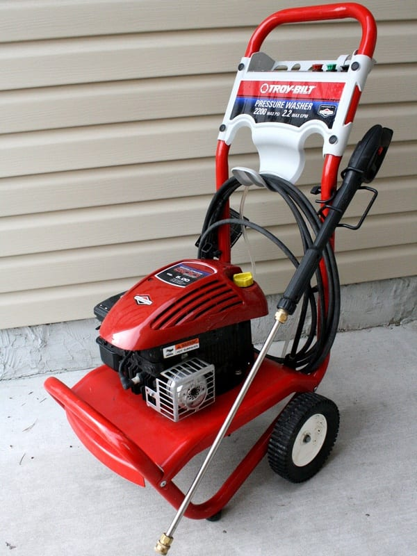 Troy Bilt 020292 Pressure Washer Review