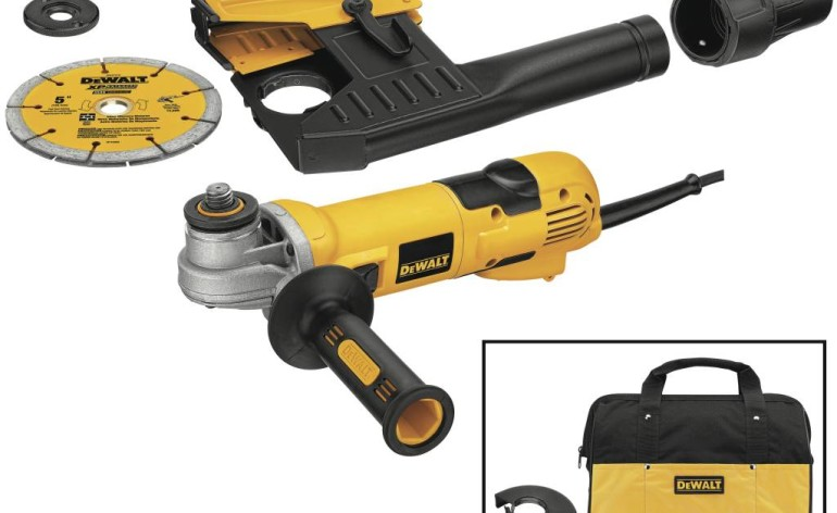 DeWalt Dust Systems for Hammers and Grinders