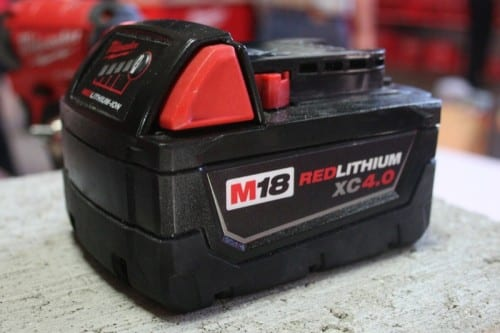 Milwaukee RedLithium Batteries
