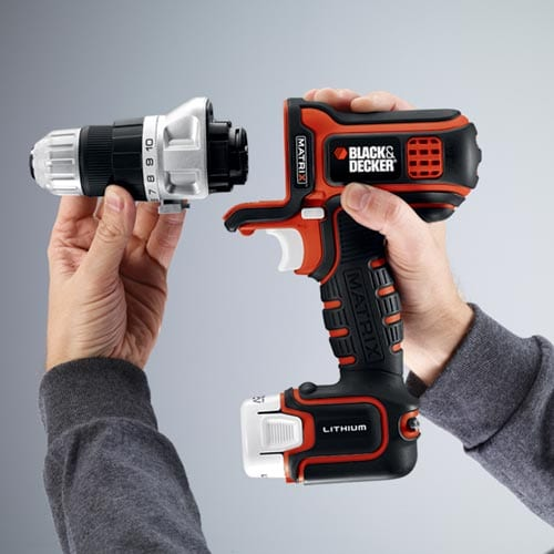 Black & Decker MATRIX Quick Connect System Preview