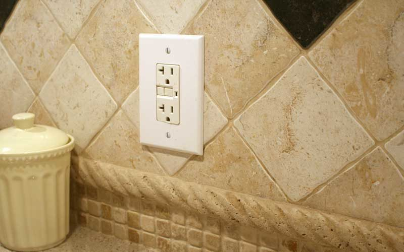 How high do I mount receptacles and switches