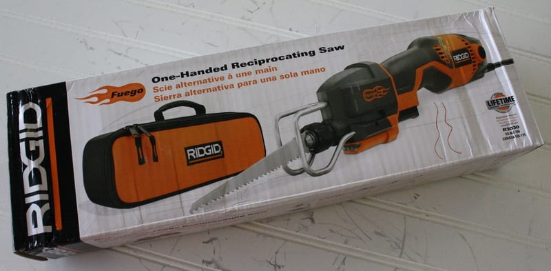 Ridgid R3030 One-Handed Reciprocating Saw Review